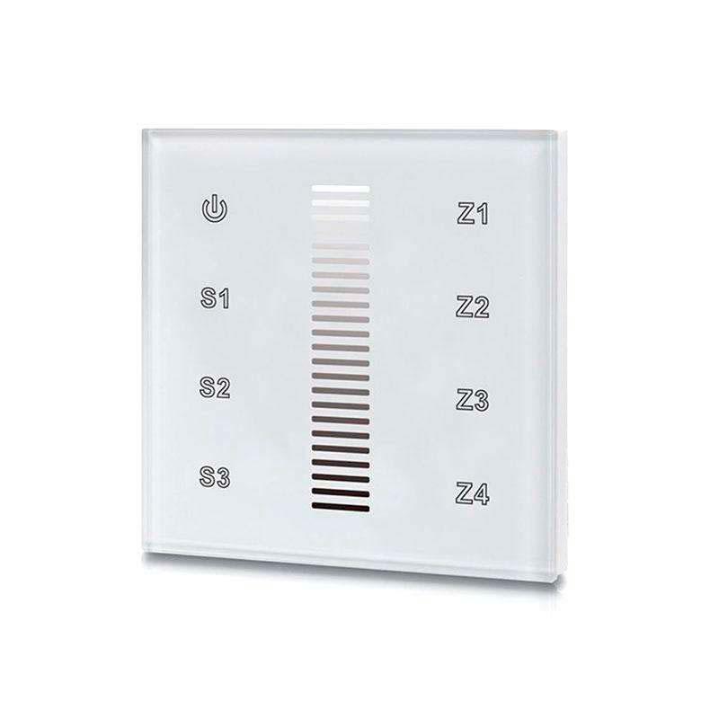 Mando LB2830 monocolor RF, Táctil 4 zonas, blanco